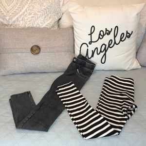 Kate Spade / H&M BUNDLE of Leggings!!  Sz 8/9 & 10